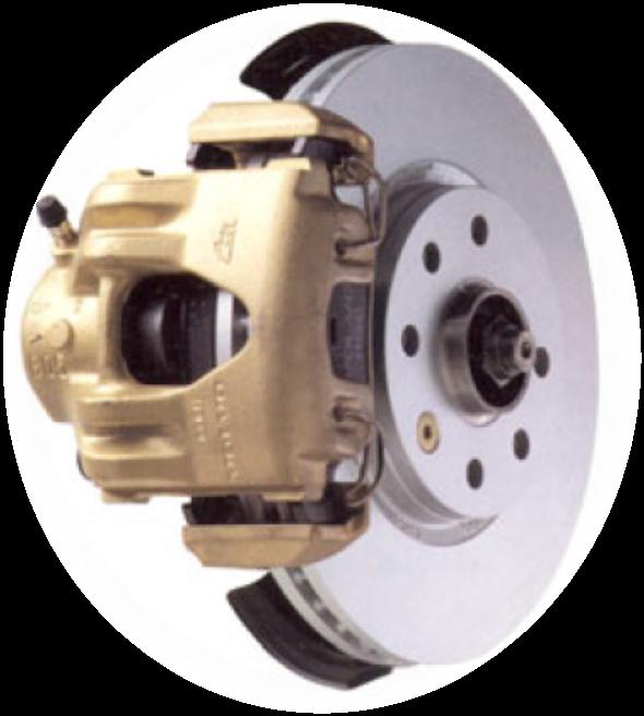 A fékrendszer kétkörös, több változat létezik, ABS nélküli, ABS/TRACS rendszerűek. A féktárcsák tömörek, van hűtött változat is elől, a hátsó fékek is tárcsásak, de van dobfékes változat is.
